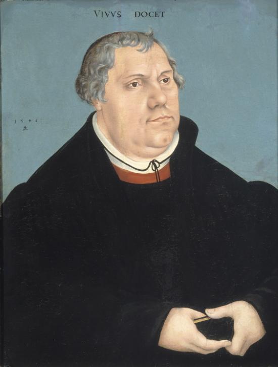 Martin Luther 1546, Lucas Chranach de Oude