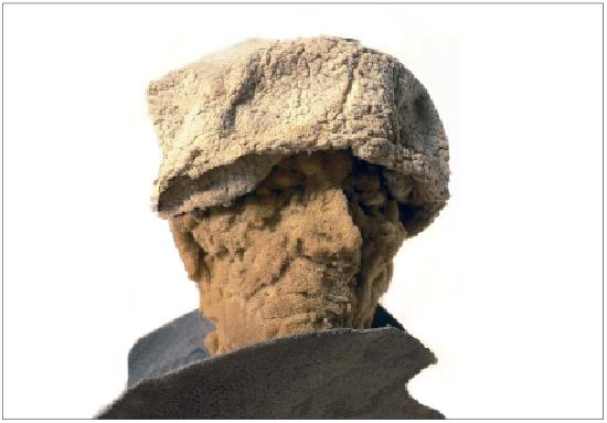 Neel Korteweg Erasmus uit foam