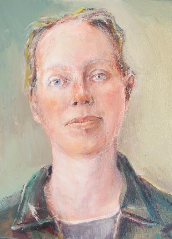 Neel Korteweg Portret van Anna Bolton 2014
