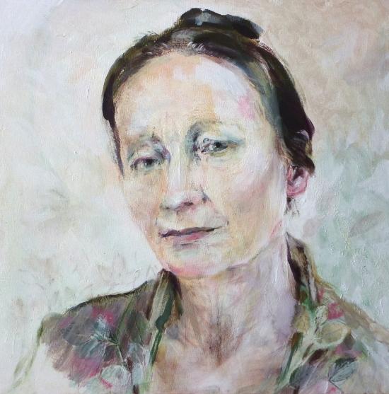 Neel Korteweg Portret van Bronia Davidson Rosenblatt 2012