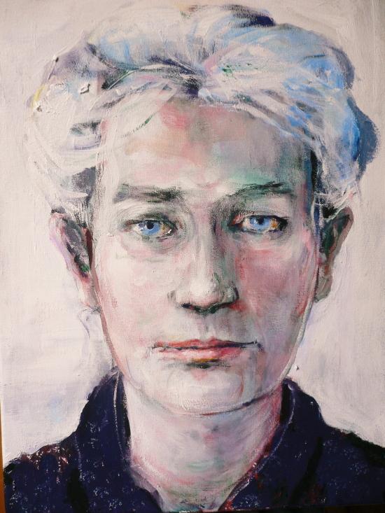 Neel Korteweg Portret van Jannemiek Kortbeek