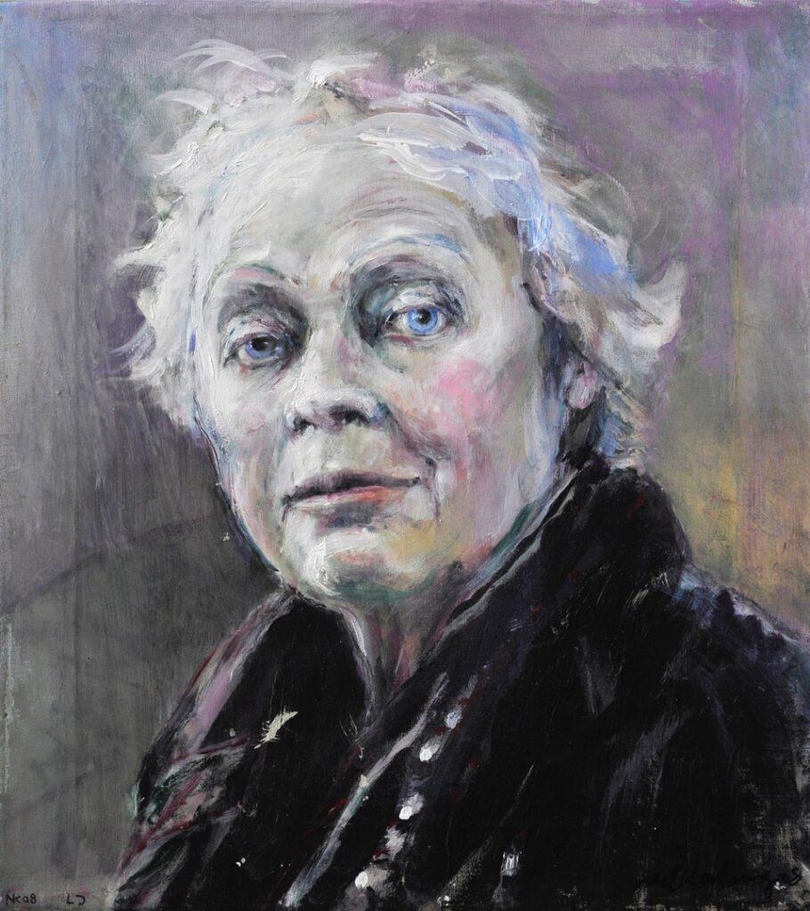 Neel Korteweg Portret van Lili Jampoller 2011