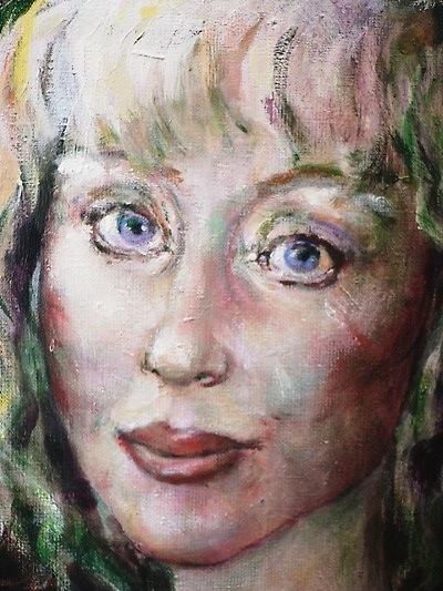 Neel Korteweg Portret van Marijke Helwegen