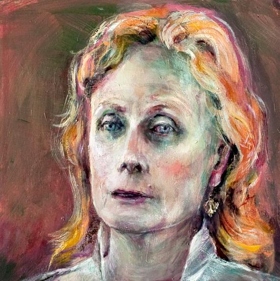 Neel Korteweg Portret van Maud Peerenboom
