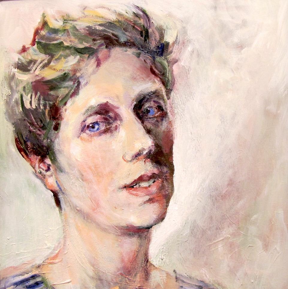 Neel Korteweg Portret van Mirthe van Doornik 2017