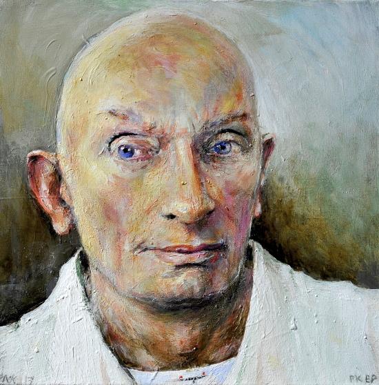 Neel Korteweg Portret van Pieter Kreft