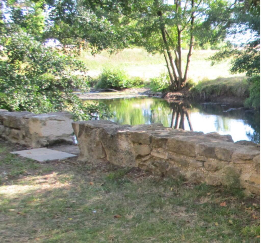 Neel Korteweg de rivier Le Sereine