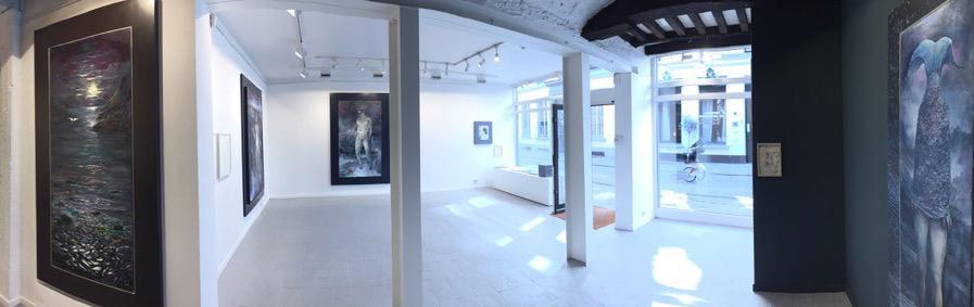 Neel Korteweg expositie Zwaar licht Gallery Wouter De Bruycker, Antwerpen