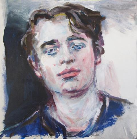 Neel Korteweg jongensportret van Max -1