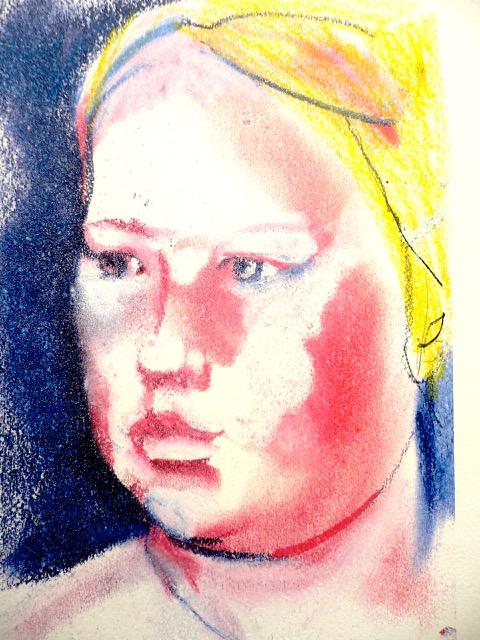 Neel Korteweg meisjesportret-2