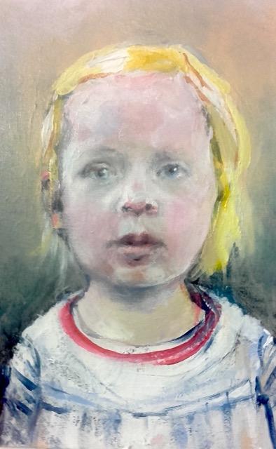 Neel Korteweg meisjesportret van Suze -1
