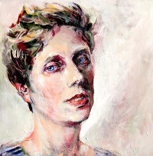 Neel Korteweg portret Mirthe van Doornik 2016