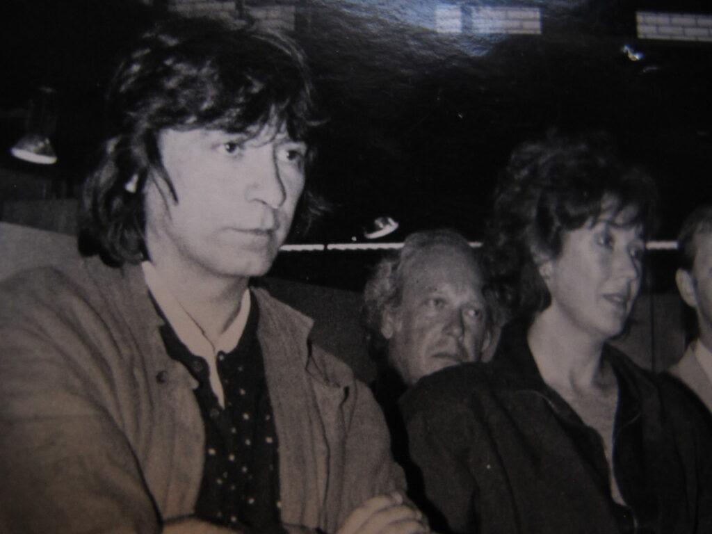 Youri Egorov en Neel Korteweg 1986